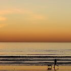 Sunset at Melkbosstrand by Elizabeth Kendall