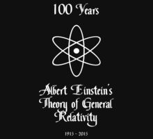 100 Year Anniversary Albert Einstein's Theory of General Relativity One Piece - Short Sleeve