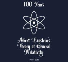 100 Year Anniversary Albert Einstein's Theory of General Relativity Kids Clothes