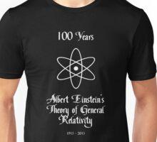 100 Year Anniversary Albert Einstein's Theory of General Relativity Unisex T-Shirt