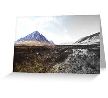 mighty bouachaille etive mor Greeting Card