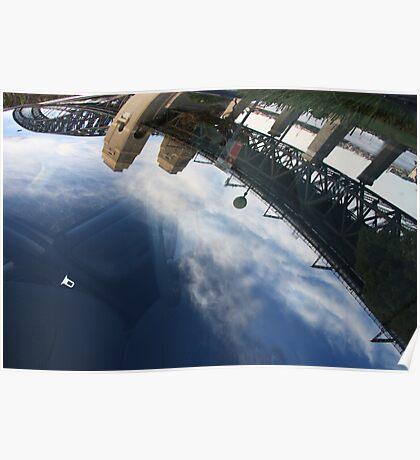 Bridge in the windscreen Poster