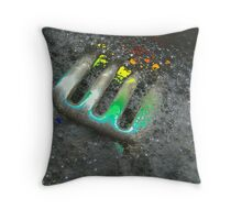 Forked! Throw Pillow