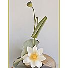 Ikebana-042 Greeting Card  by Baiko