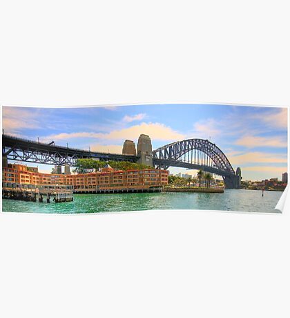 Icon  - Sydney Harbour Bridge - The HDR Series Poster