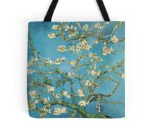Vincent van Gogh, Blossoming Almond Tree Tote Bag
