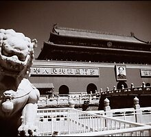 Tiananmen gate tower by Paul Amyes