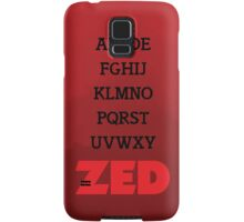 It's Zed. Samsung Galaxy Case/Skin