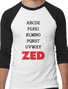 It's Zed. Men's Baseball ¾ T-Shirt