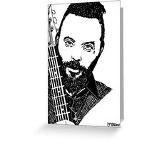 Justin Furstenfeld-Blue October Sharpie Drawing Greeting Card