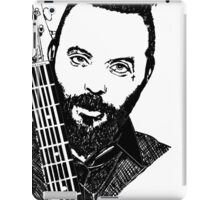 Justin Furstenfeld-Blue October Sharpie Drawing iPad Case/Skin