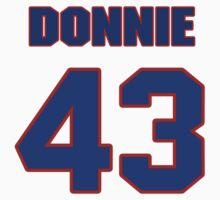 National football player Donnie Elder jersey 43 by imsport