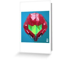 Super Metroid: Samus Greeting Card