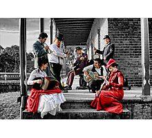 Mojo Juju & The Snake Oil Merchants Photographic Print