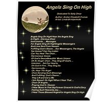 For Angels Sing On High Version 1 Poster