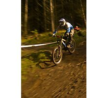 Biker number 2 Photographic Print