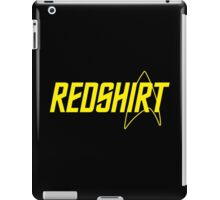 Federation Redshirt Design iPad Case/Skin