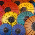 Umbrellas  by David Reid