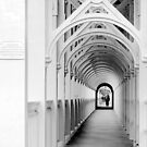 Arches with Pedestrian by Jenn Ridley