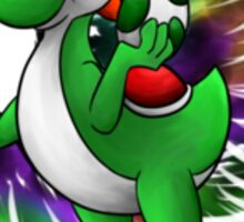 Super Smash Bros 4 Yoshi Sticker
