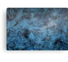 Dancing Blue  Canvas Print