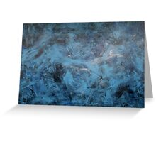 Dancing Blue  Greeting Card