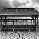 Clevedon Pier Shelter by Paul Woloschuk