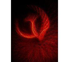 Fire Phoenix Photographic Print