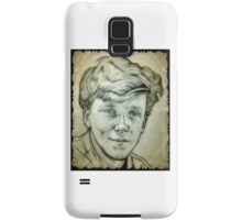 Anthony Michael Hall drawing Samsung Galaxy Case/Skin