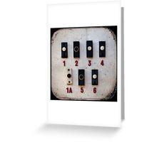 Blackpool Doorbells Greeting Card