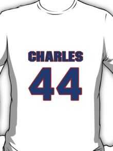 National football player Charles Johnson jersey 44 T-Shirt