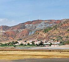 PANORAMA OF PORTMAN, NEAR LA UNION, SPAIN by Squealia