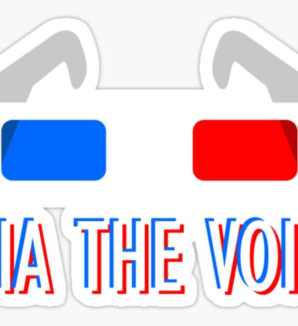 """Via The Void"" Design Sticker"