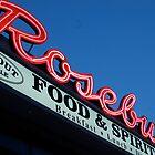 Rosebud Diner sign by colleenboston