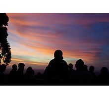 The Final Sunset of 2014 Photographic Print