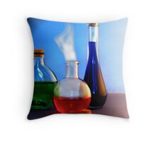 Apothecary 11 Throw Pillow