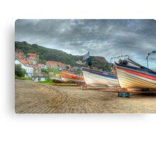 Fishing boats Canvas Print