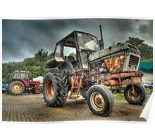Fishermans Tractor Poster