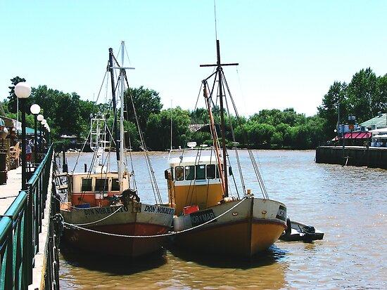 Boats by Gabriel Skoropada