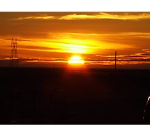 CheyennE Sunrise Photographic Print