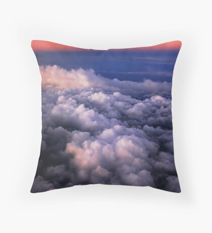 Now fly Throw Pillow
