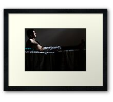 Caravaggian Abduction Framed Print