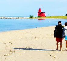 Beach Walk by corilynlong