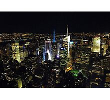 Times Square from Above Photographic Print