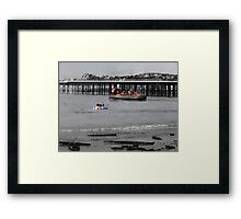 The Day The Sea Went Black  Framed Print
