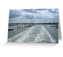 Beaulieu River Greeting Card