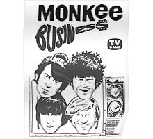Monkee Business Poster