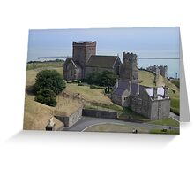 St. Mary-in-Castro Church, Dover Greeting Card