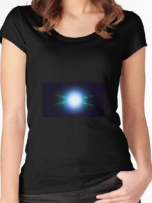 UFO OR SPIRIT ORB? Women's Fitted Scoop T-Shirt