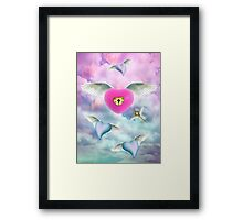 Key To My Heart Framed Print